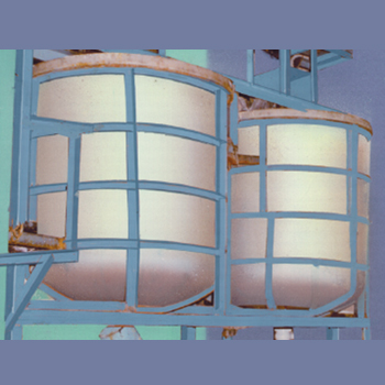 CHEMICAL/ACID PROCESSING TANKS CYLINDRICAL VERTICAL TANKS WITH DISC BOTTOM: CVD SERIES