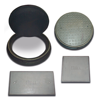 FRP MANHOLE COVERS AND FRAMES