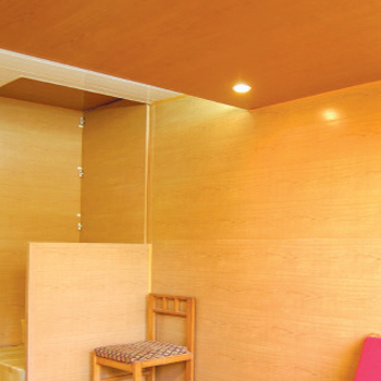 False ceilings and wall panelling